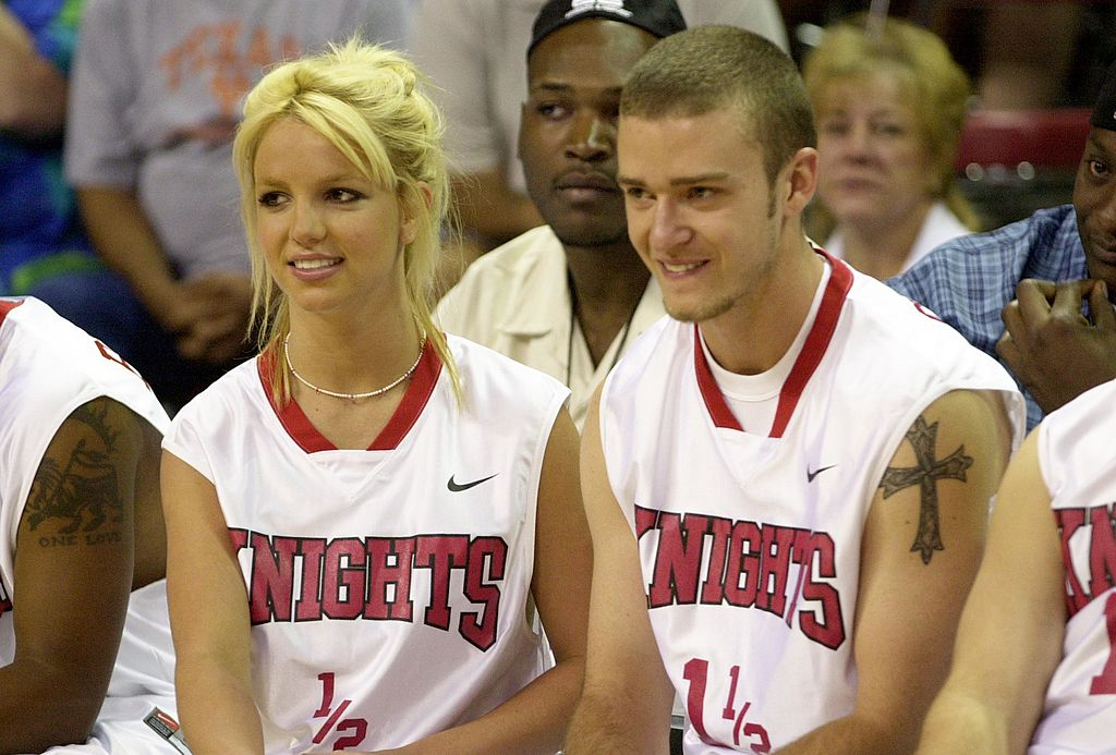 Britney Spears & Justin Timberlake (Photo by Kevin Mazur/WireImage)