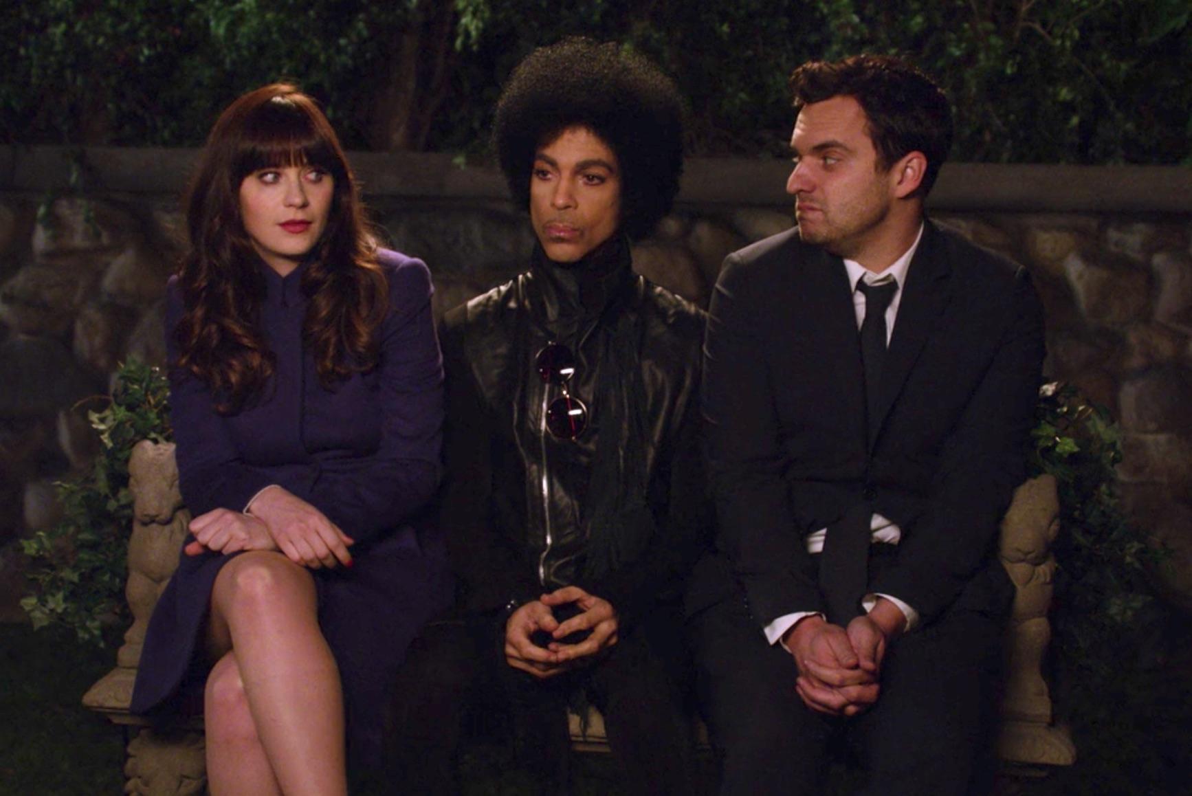 Prince was on New Girl
