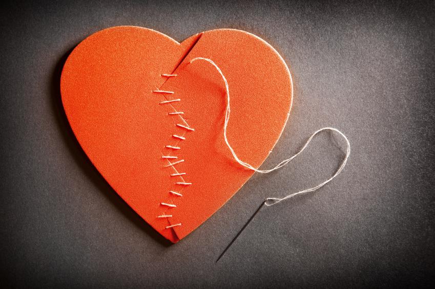 Broken Heart On The Mend