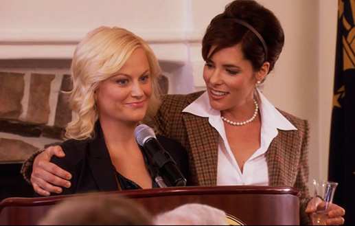 parks-and-recreation-season-3-12-eagleton-town-meeting-leslie-knope-lindsay-carlisle-flay-parker-posey-amy-pohler-review-episode-guide-list