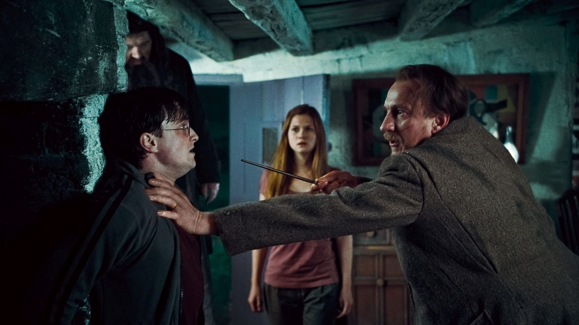 Picture of Harry and Lupin