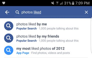 Facebook on liked photos someone by How to