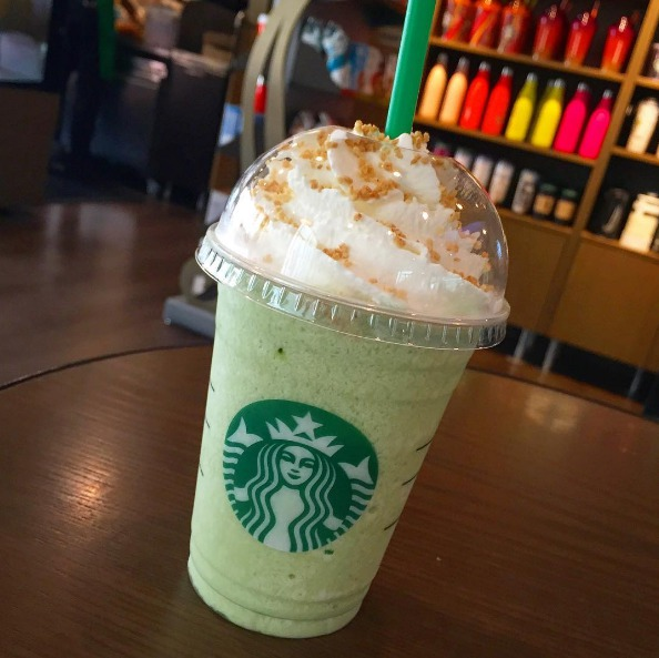 Picture of Starbucks Key Lime Pie Frappuccino