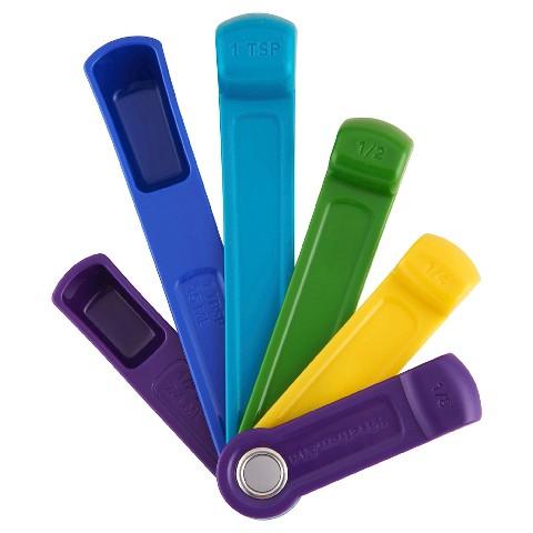 KitchenAid™ Self-Leveling Measuring Spoons - Peacock $7.99