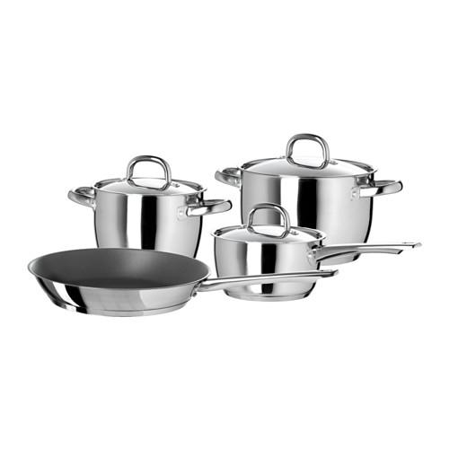 IKEA OUMBÄRLIG 7-piece Cookware Set $49.99