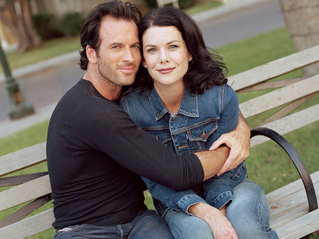 Picture of Luke and Lorelai