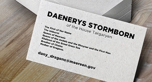 dany business card