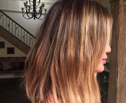 chrissy teigen summer hair
