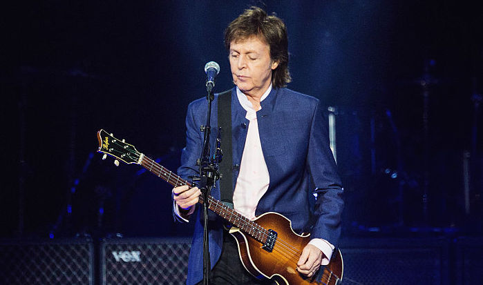 Paul McCartney Performs At Key Arena