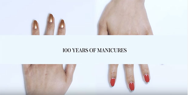 100 years manicures allure