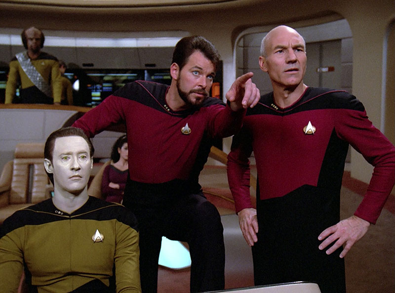 Picture of Star Trek TNG Uniforms