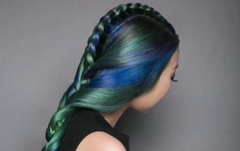 jewel tone hair
