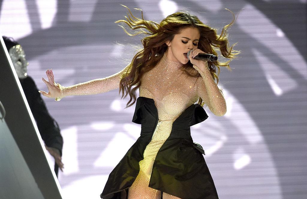 Selena Gomez And DNCE Perform At Sleep Train Arena