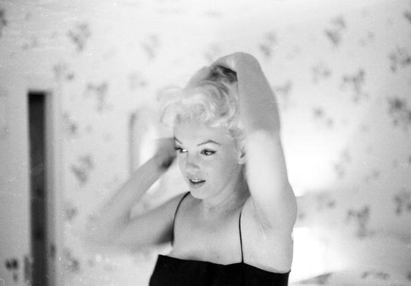 Marilyn Gets Ready To Go Out