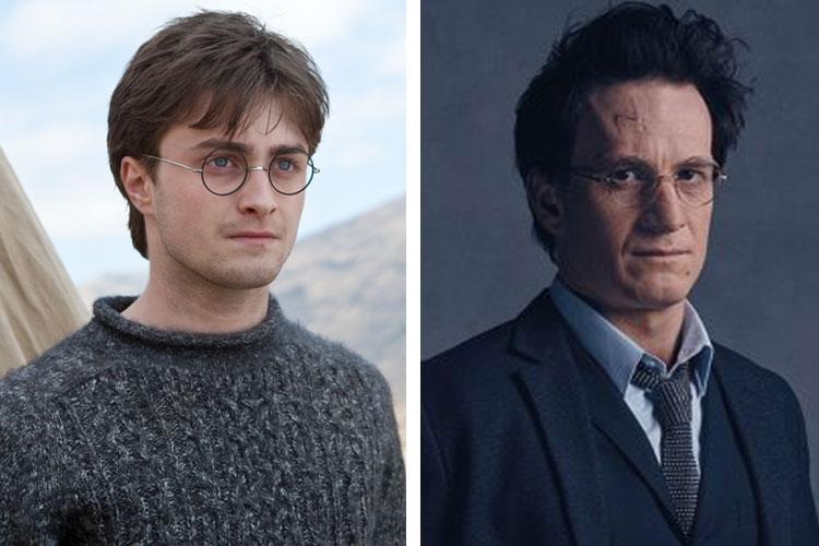harry potter movie vs play