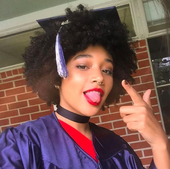 Picture of Amanda Stenberg Graduation