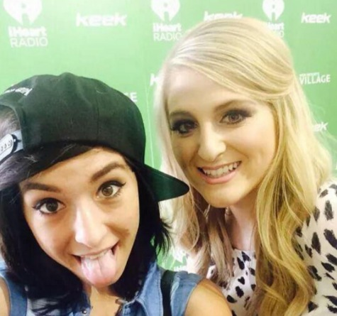 Picture of Meghan Trainor and Christina Grimmie