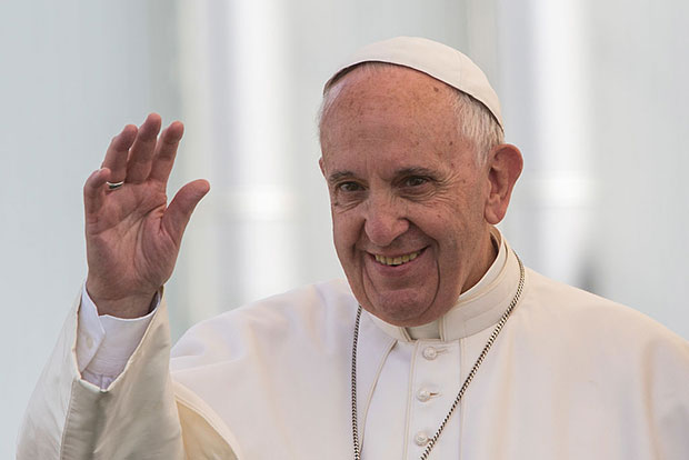 pope francis body image