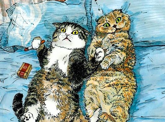 lesbian sex cats haiku