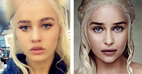 khaleesi look alike