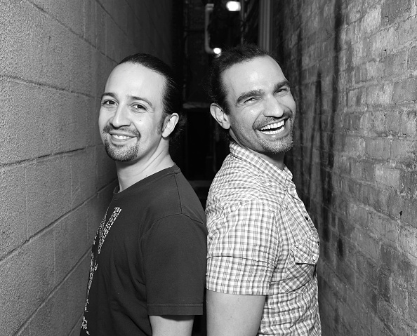 Lin-Manuel Miranda And Javier Munoz Photo Call