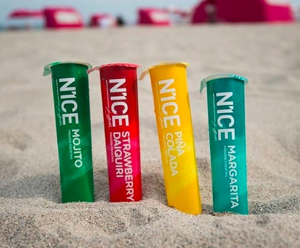 N1CE alcoholic popsicles