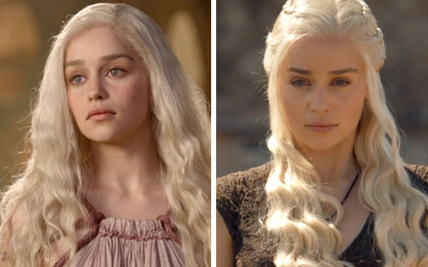 khaleesi then and now