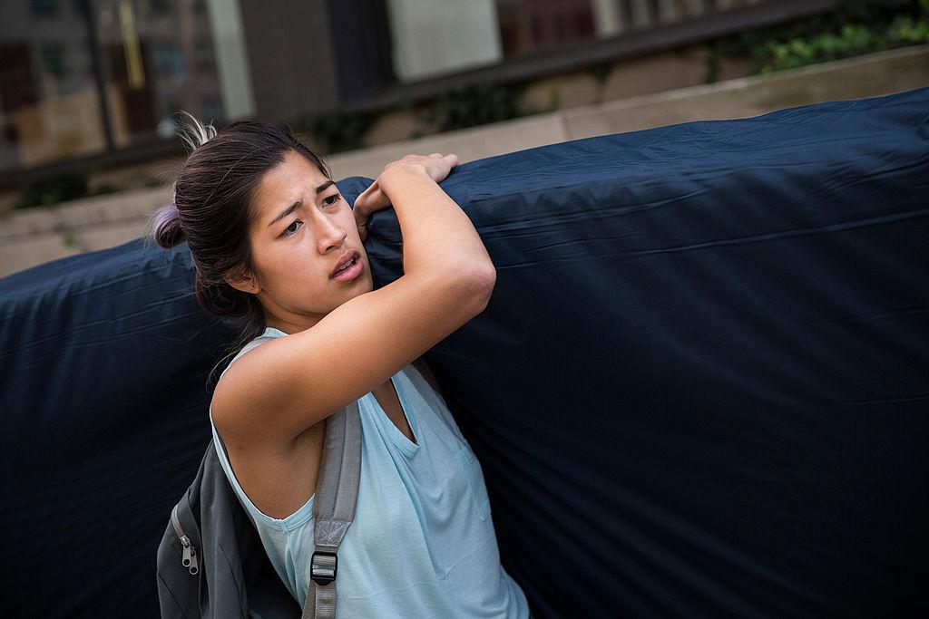 Columbia Student Carries Mattress Around Campus Until Her Alleged Rapist Is Expelled