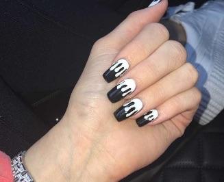 kylie jenner lip kit nails