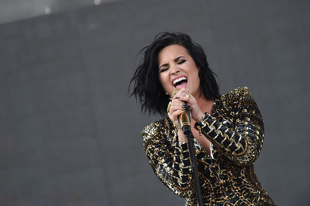 Demi Lovato body say