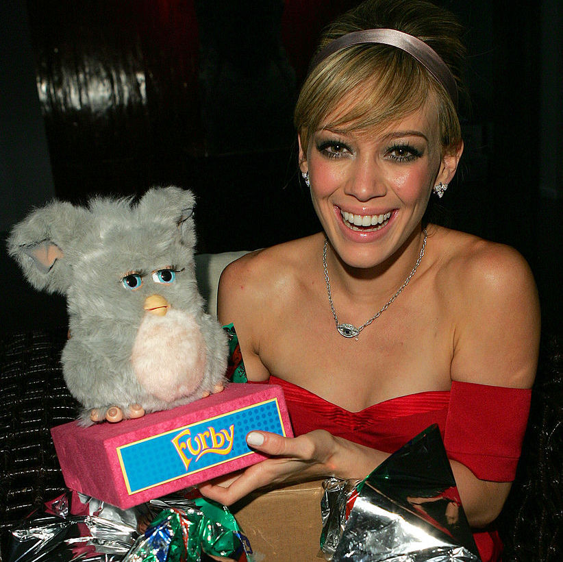 Hilary Duff's 18th Birthday Party - Inside
