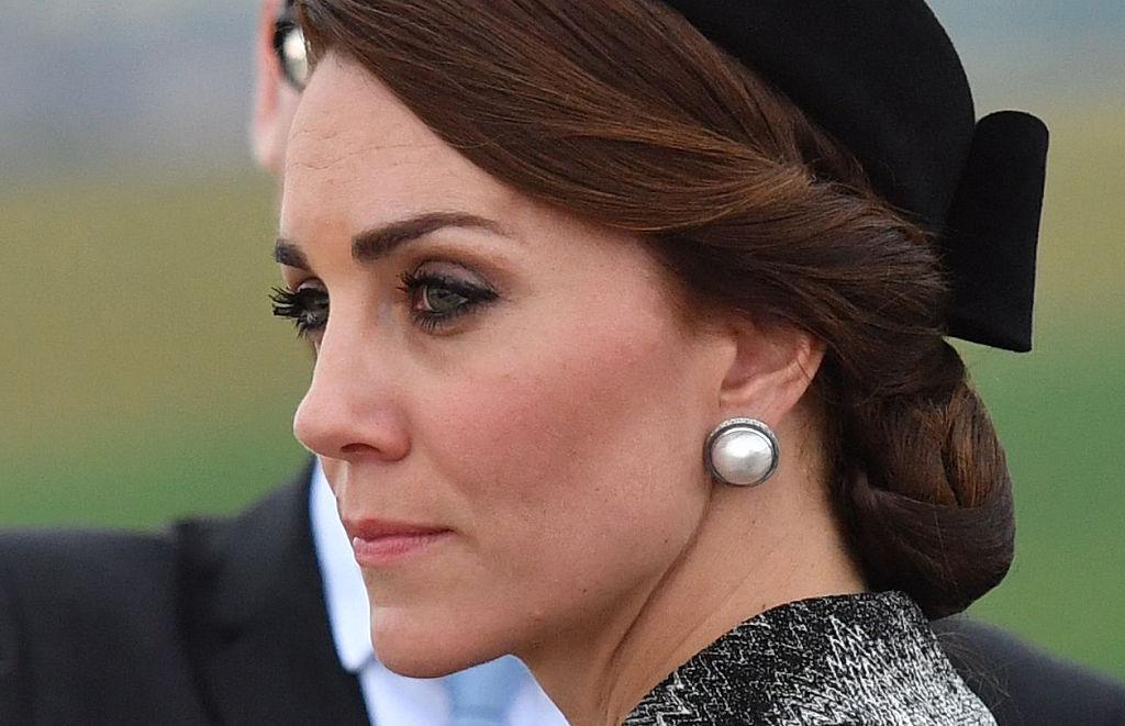 hairnet Kate Middleton