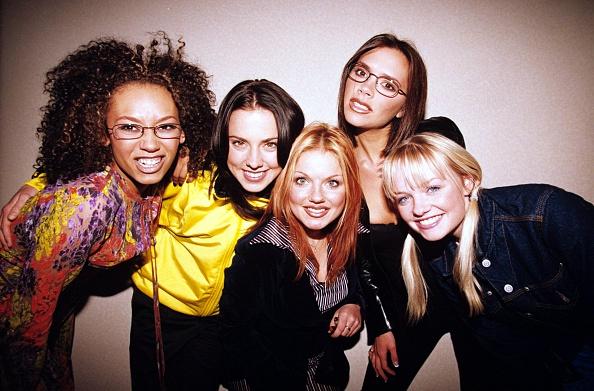 The Spice Girls - Melanie B, Melanie C, Geri Halliwell, Victoria Adams And Emma Bunton