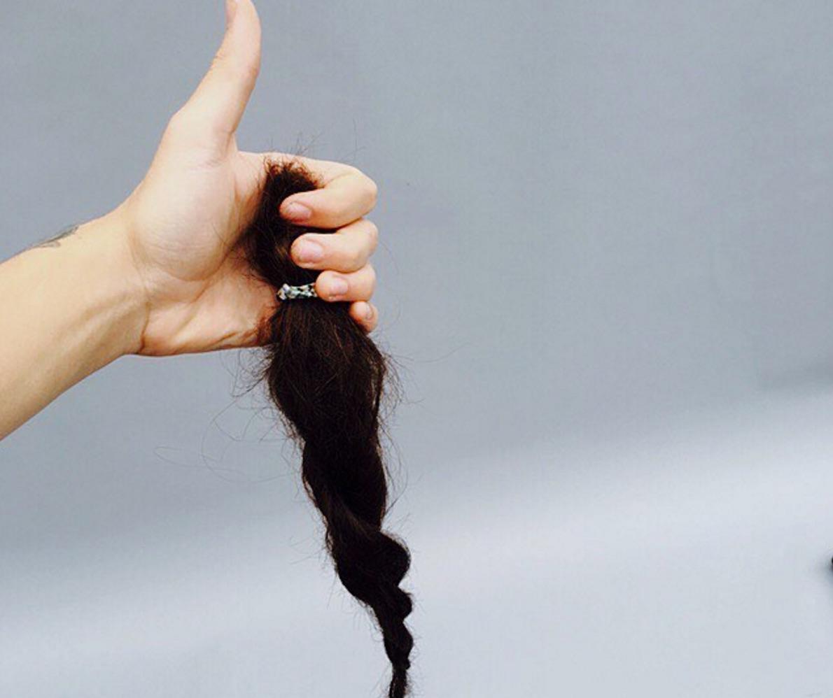 harry styles short hair
