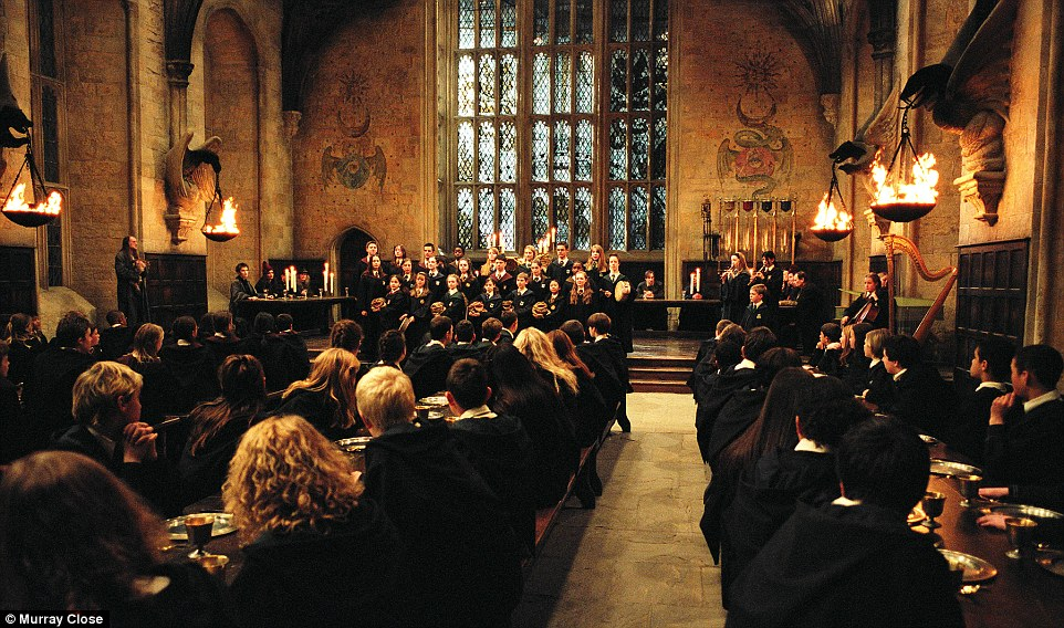 Picture of Hogwarts Great Hall