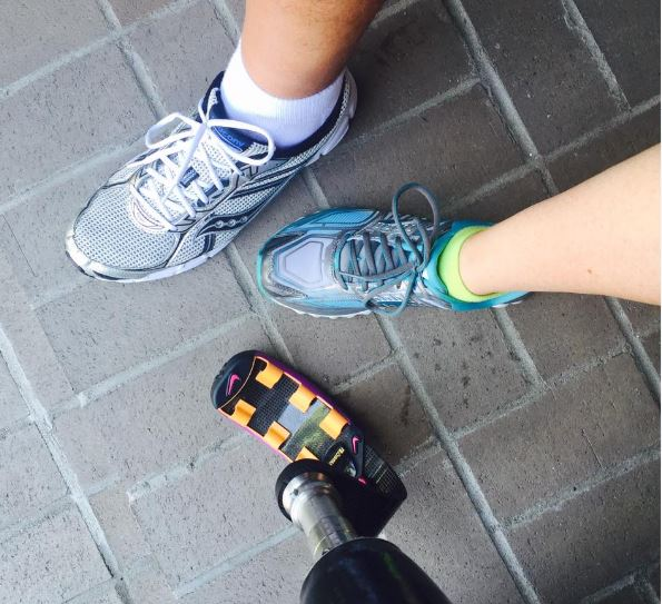 Katie Eddington running 5k