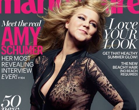 Amy Schumer Marie Claire Cover