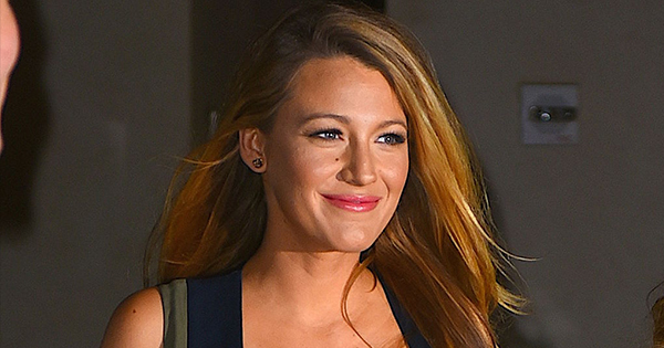 Blake Lively two dresses cover picture