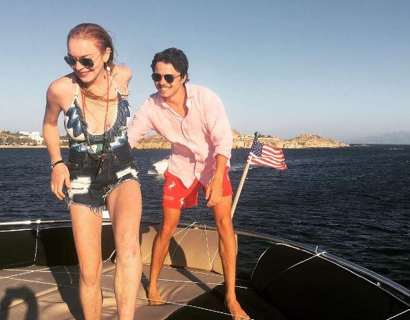 Lindsay Lohan Vacation Photos