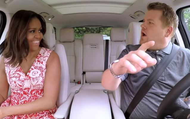 Michelle Obama Carpool Karaoke (1)