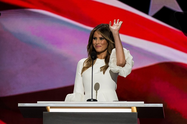 2016 Republican National Convention with Donald and Melania Trump