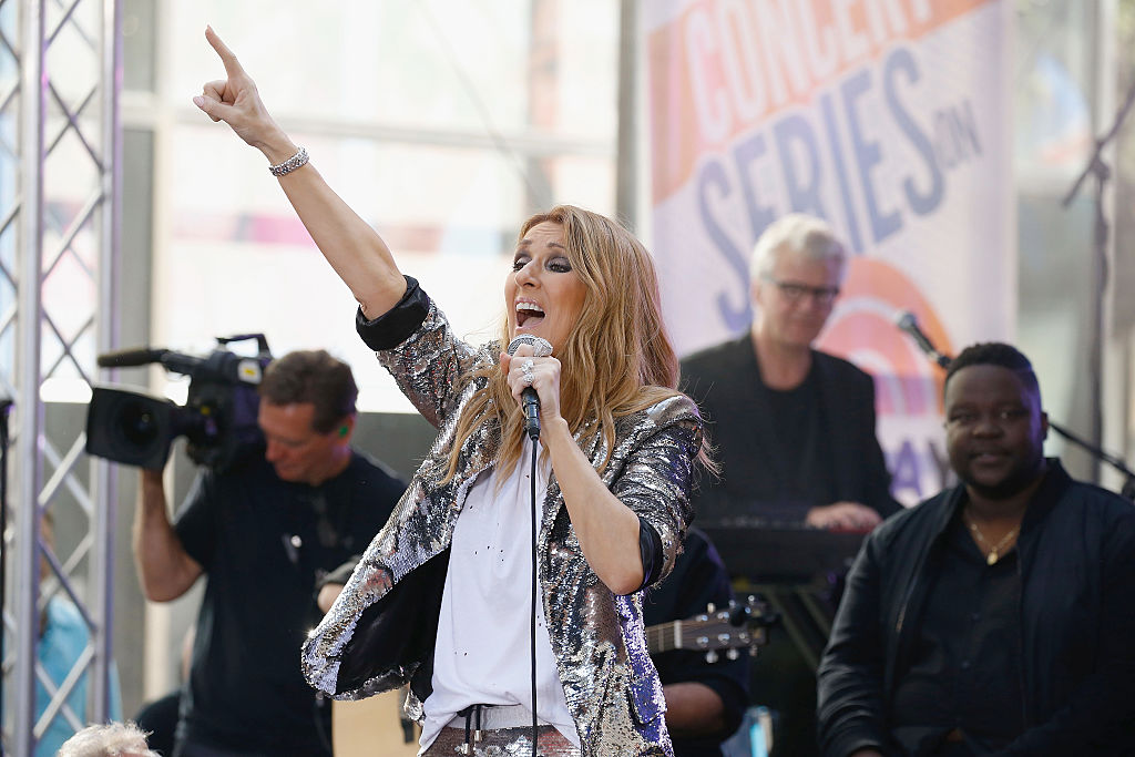 """Celine Dion Performs On NBC's """"Today"""""""