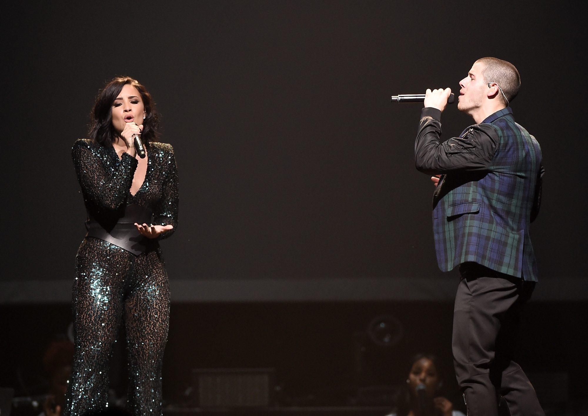 Demi Lovato & Nick Jonas In Concert - Brooklyn, NY