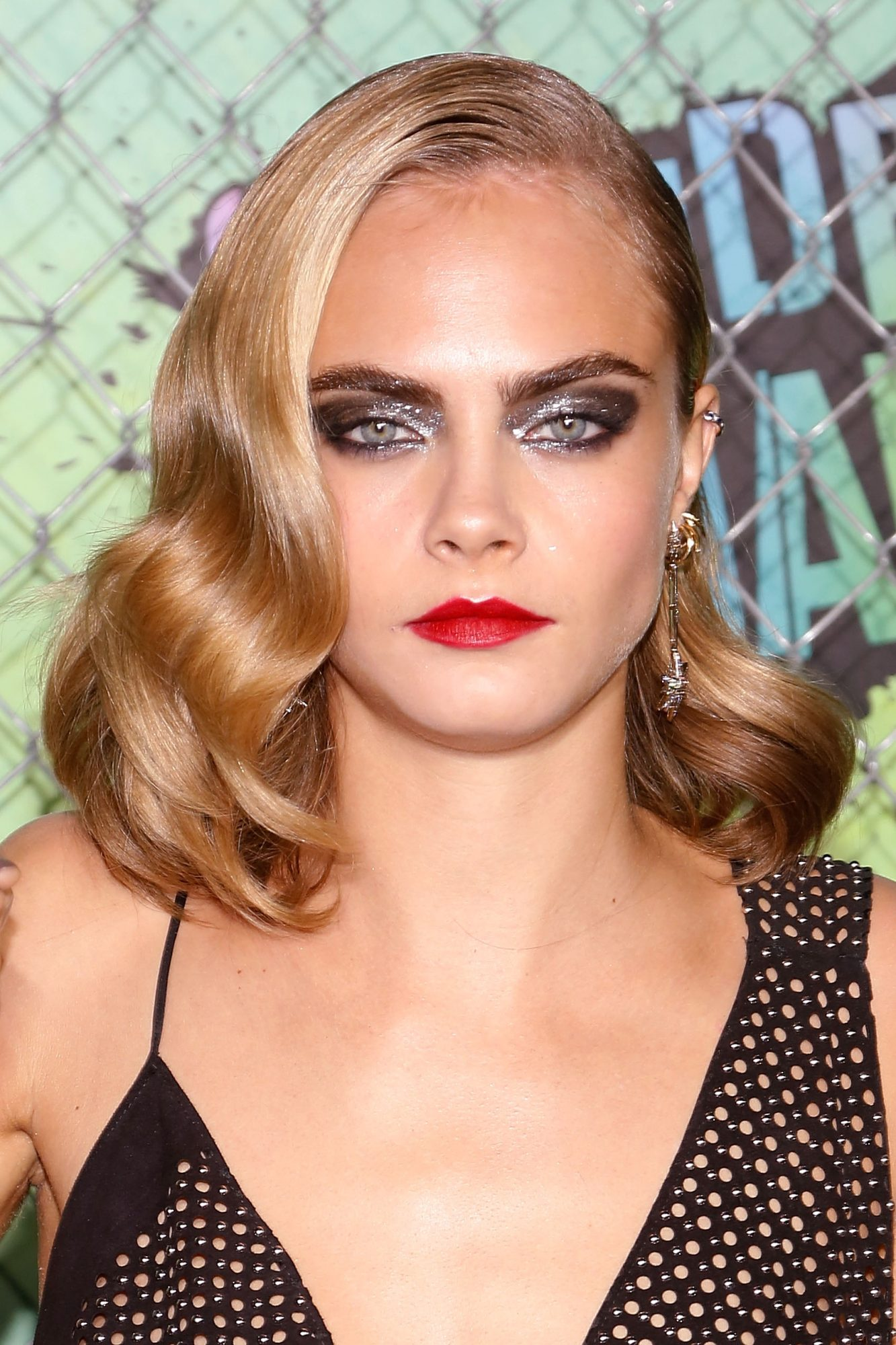 NEW YORK, NY - AUGUST 01:  Cara Delevingne attends the world premiere of