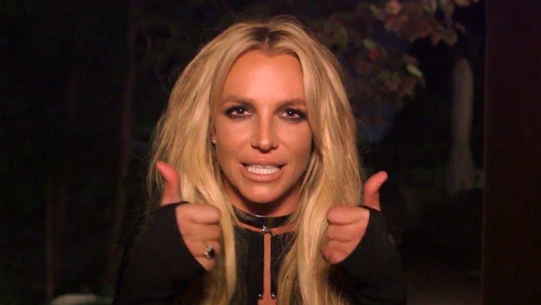 Britney Spears pranks Jimmy Kimmel