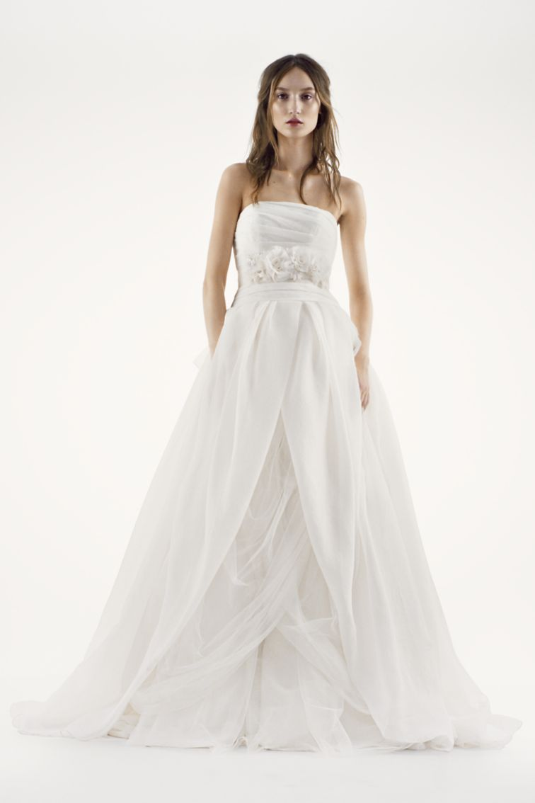 The 1 Best Selling Wedding Dress At David S Bridal Is A Flowy Dream Hellogiggles,Ball Gown Most Popular Wedding Dresses