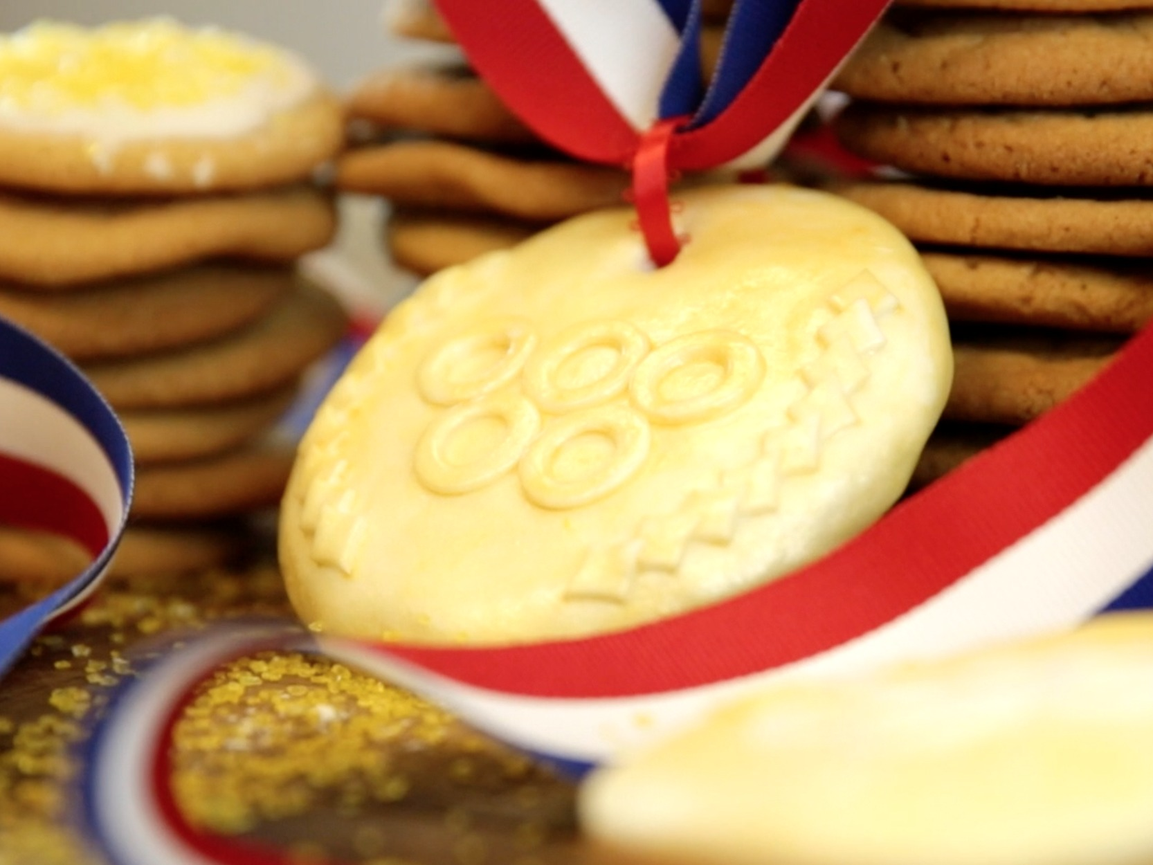 Gold medal cookie