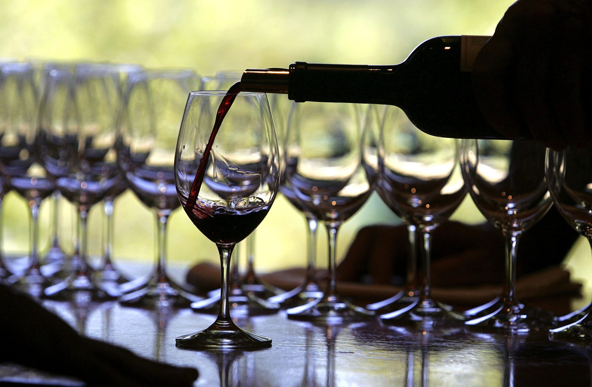 Fall Harvest Underway At Napa Wineries