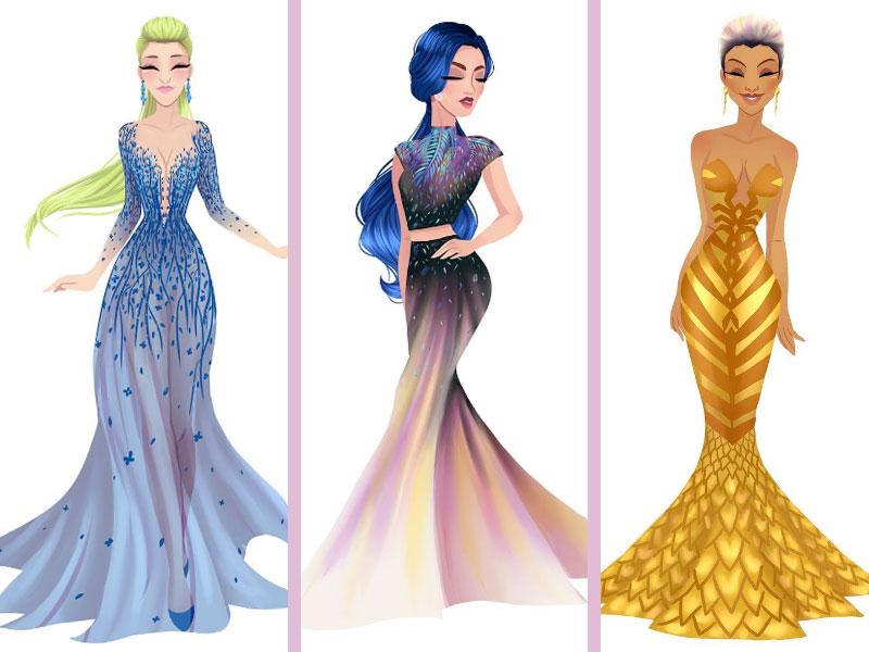 zodiac princess art