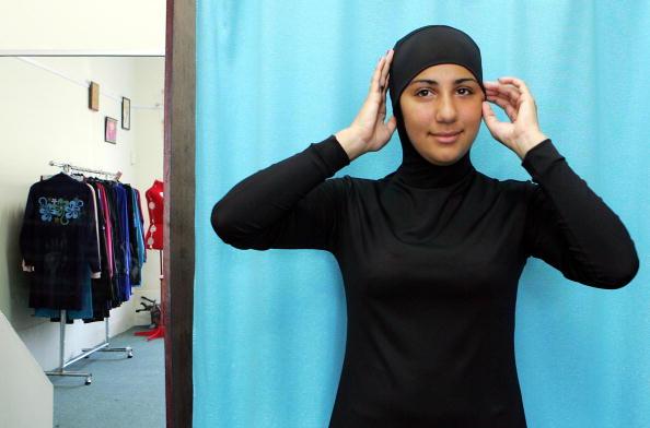 Australian model Mecca Laalaa wears an I